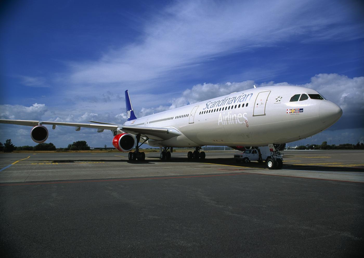 SAS Airbus A340-300. (Foto: SAS AB)