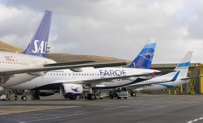 Fly i Vágar Lufthavn. (Foto: FAE – Vága Floghavn)