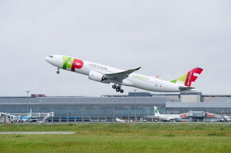 Den nye Airbus A330-900neo, som er leveret til TAP Air Portugal. (Foto: Airbus)