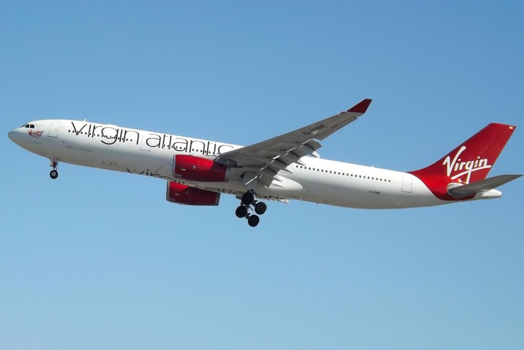 Virgin Atlantic og selskabets Airbus A330-300 forlader Dubai i marts 2019. Foto: Mark Harkin