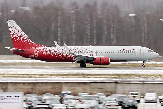 En Boeing 737-800 fra Rossiya Airlines. (Foto: Anna Zvereva/Wikimedia)
