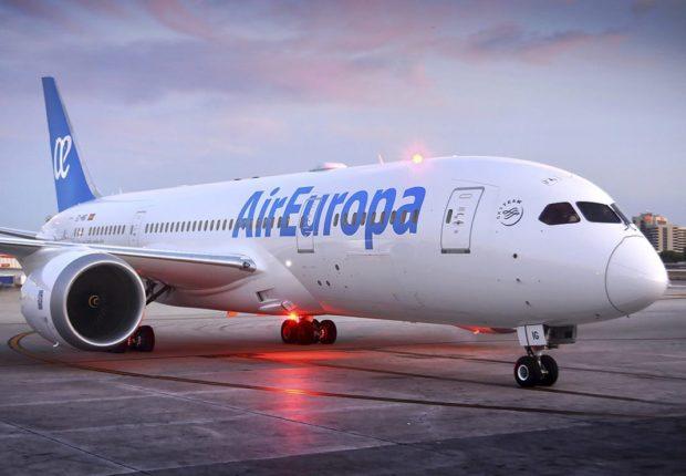 Air Europa Boeing B787-8.