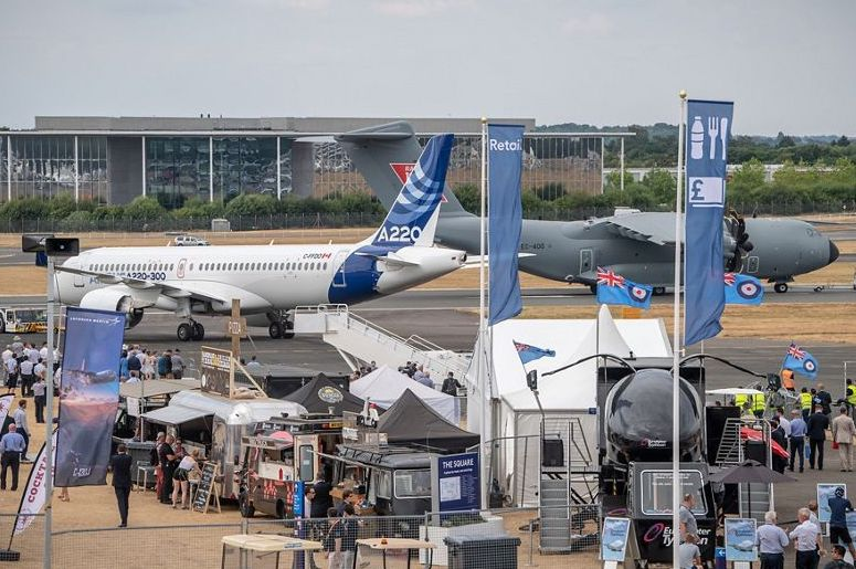 Farnborough 2018. (Foto: Airbus)