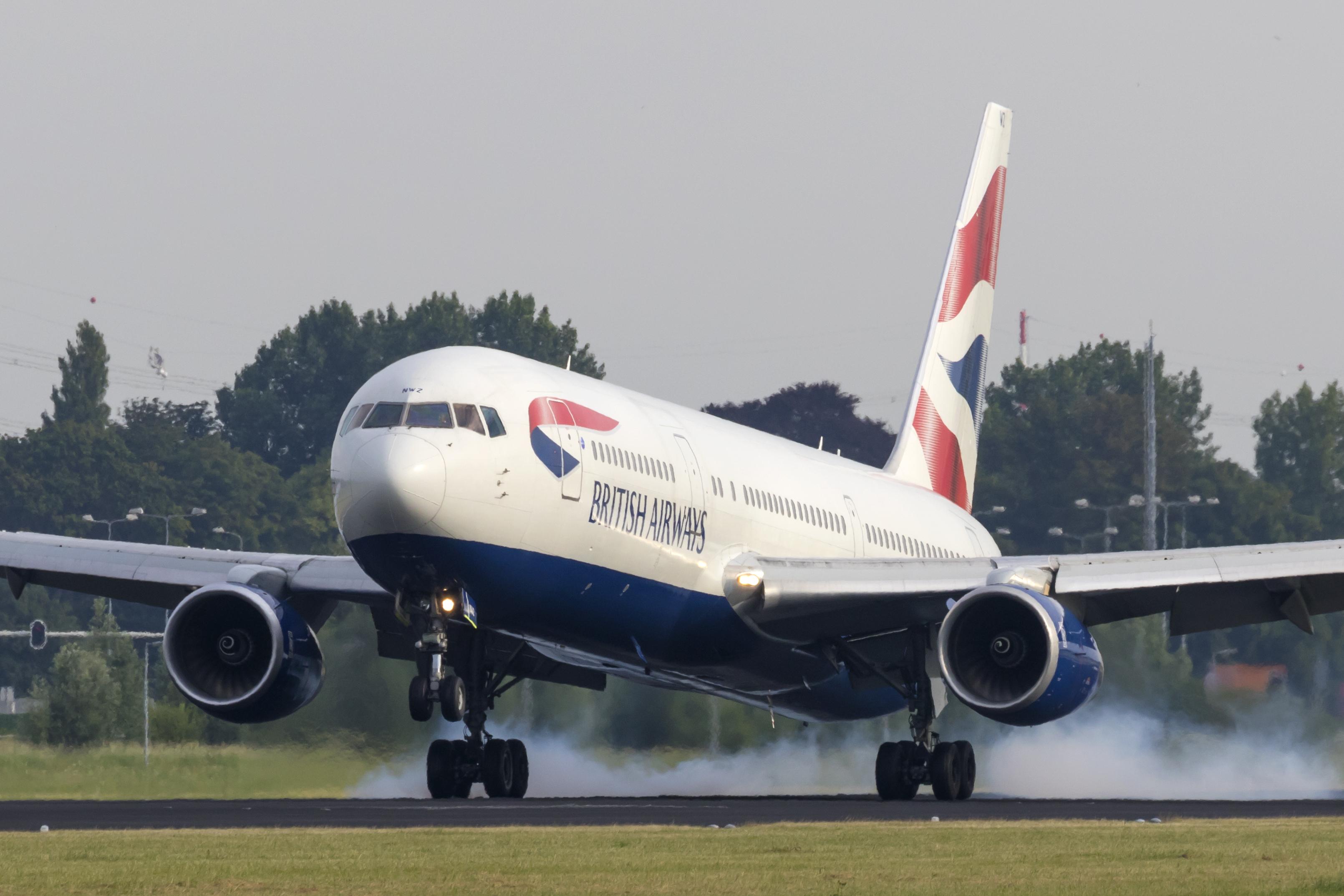 En Boeing 767-300ER fra British Airways. Foto: © Thorbjørn Brunander Sund, danishaviationphoto.com