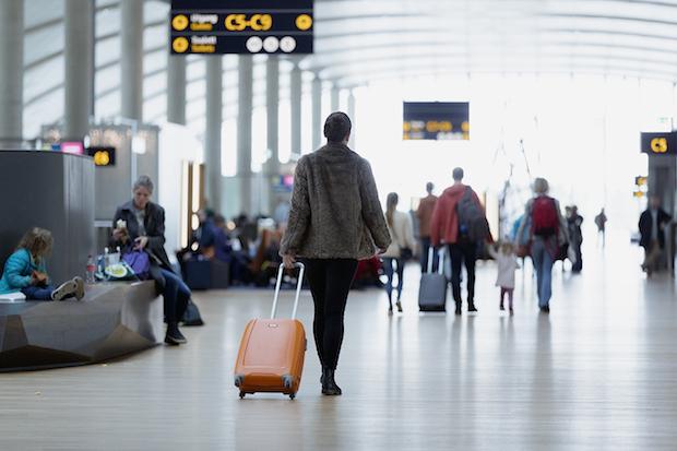Passagerer i Oslo Lufthavn. (Foto: Avinor)