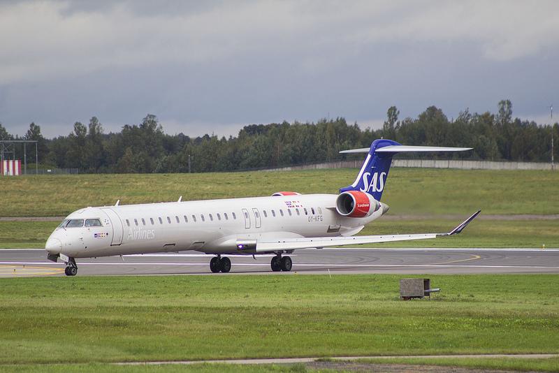SAS Bombardier CRJ900 i Vilnius Airport (Foto: Renatas | CC 3.0)