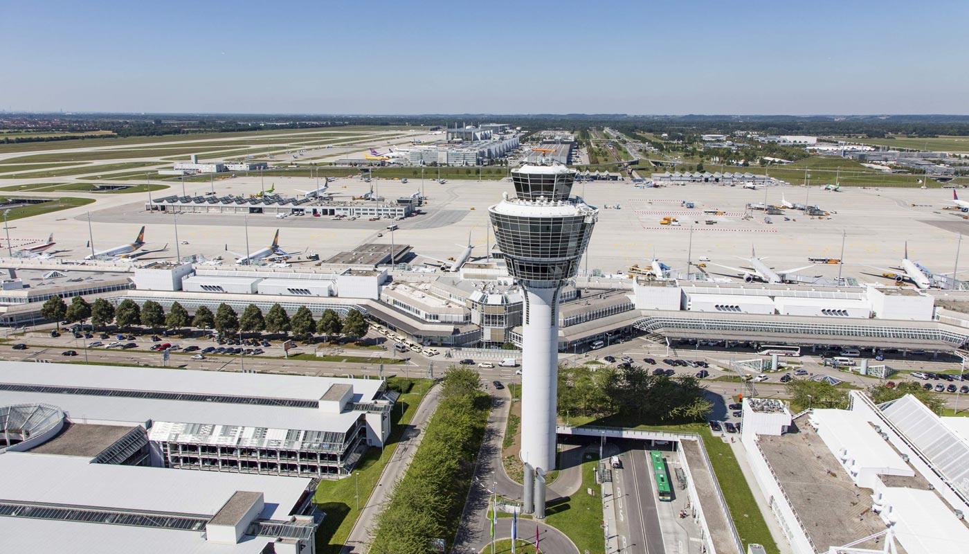 München Lufthavn i den sydtyske delstat Bayern. Foto: München Lufthavn