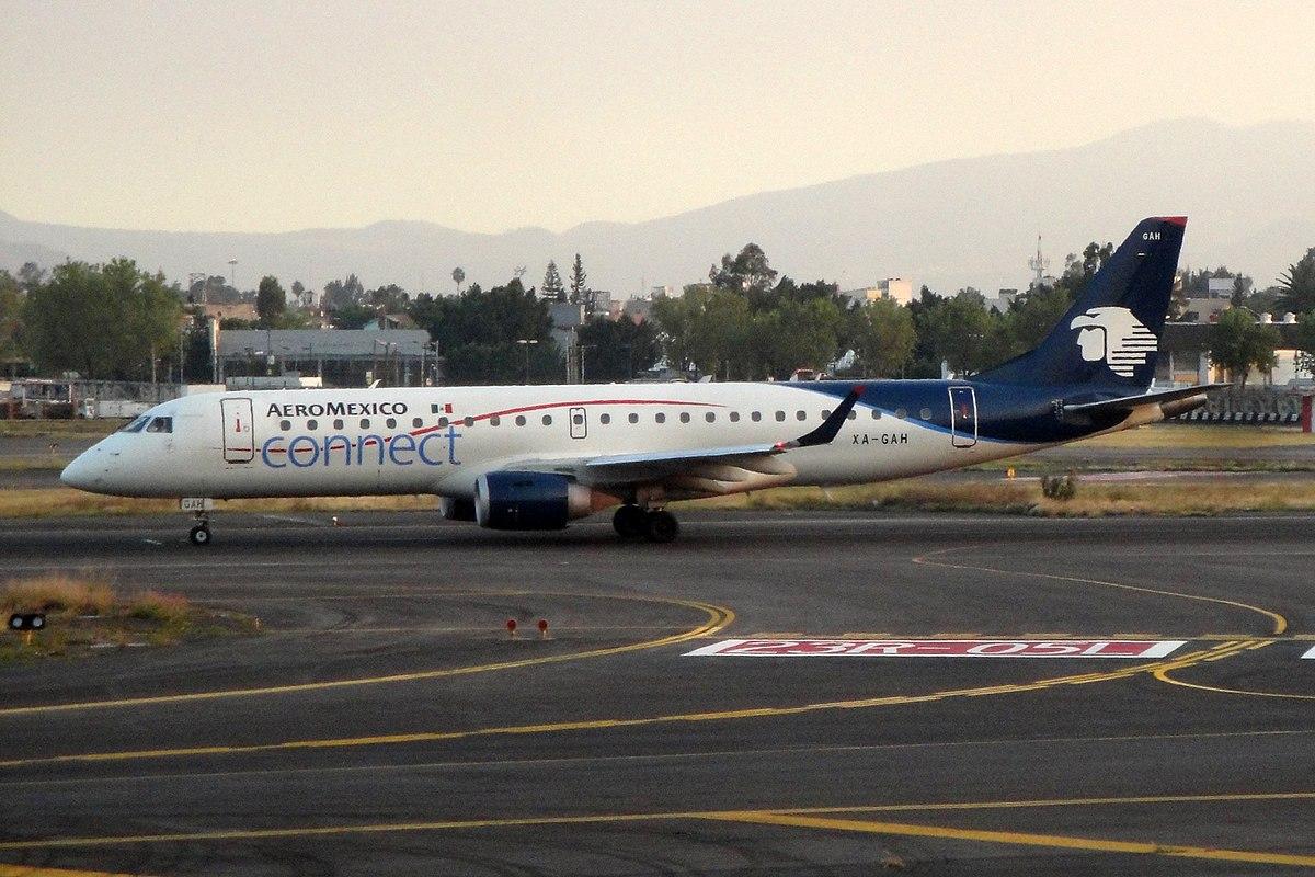 Aeroméxico Embraer E190 (Foto: Kambui   CC 2.0)