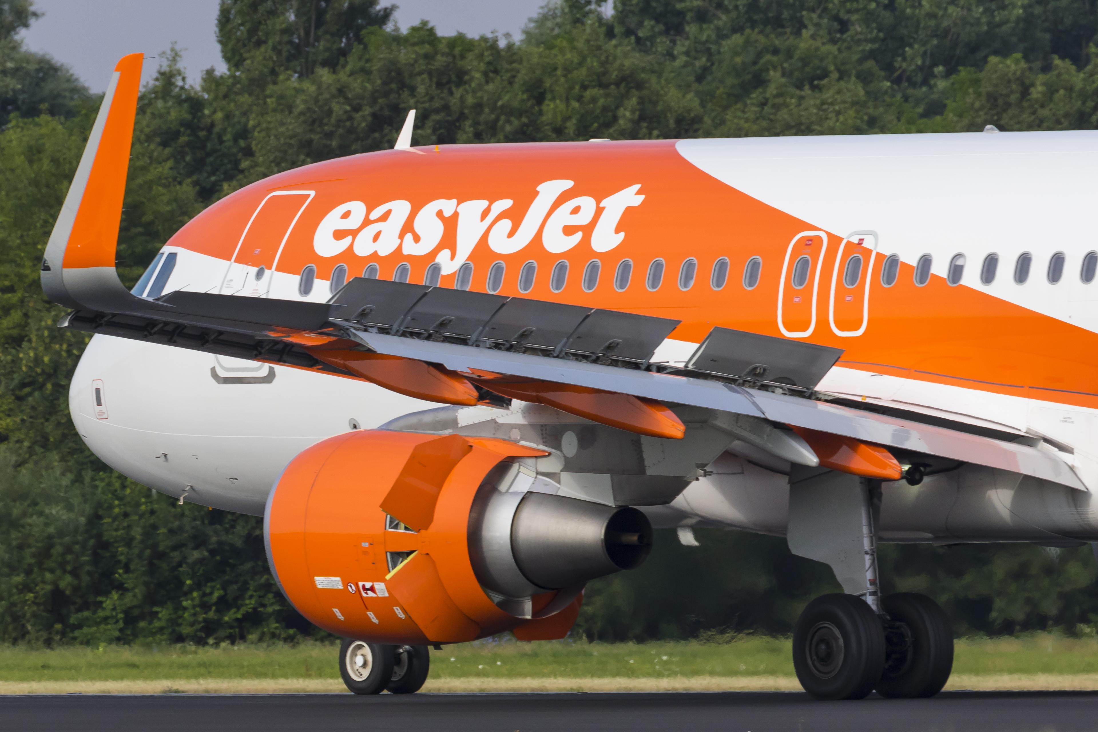 Airbus A320-200 fra easyJet (Foto: © Thorbjørn Brunander Sund, danishaviationphoto.com)