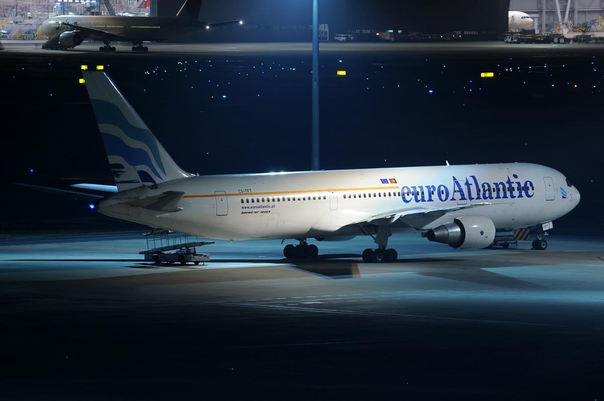 Boeing 767-300 fra euroAtlantic Airways. (Foto: Toshi Aoki – JP Spotters | CC 3.0)