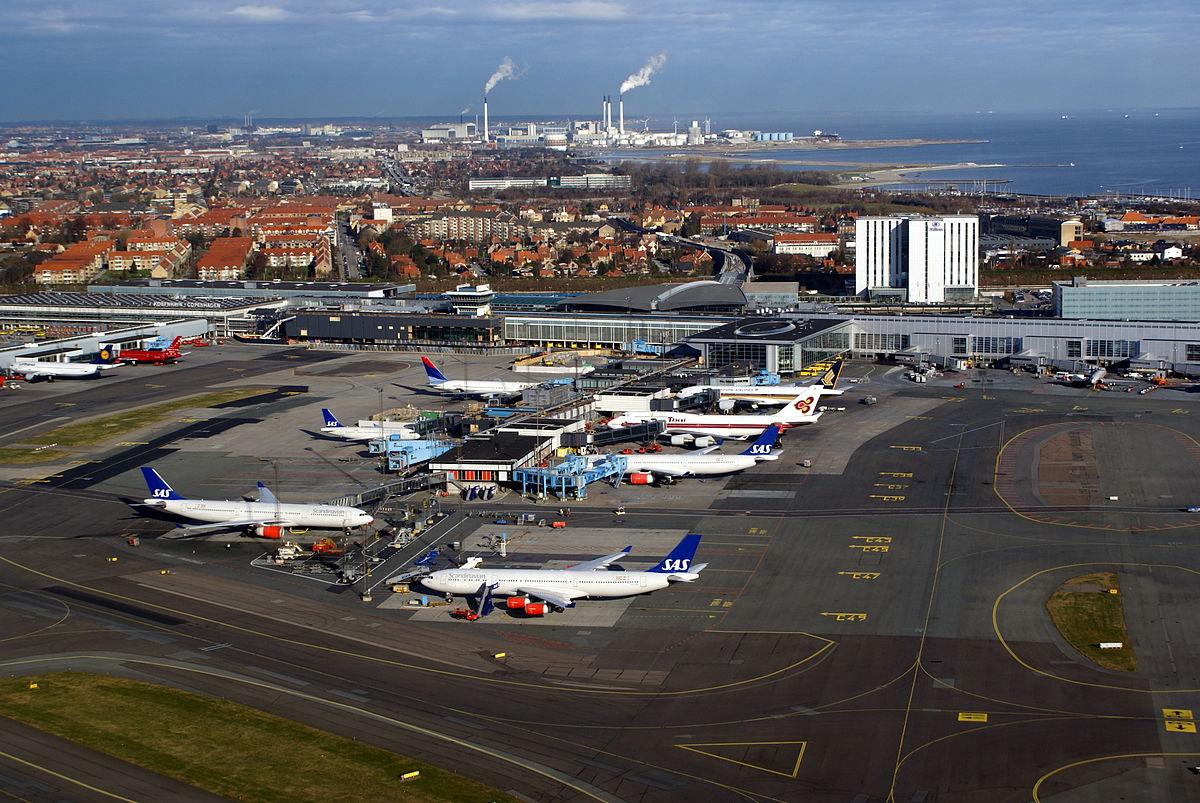 Finger C i Københavns Lufthavn og dele af Finger B til venstre.(Arkivfoto: Thue C. Leibrandt | CC 3.0)