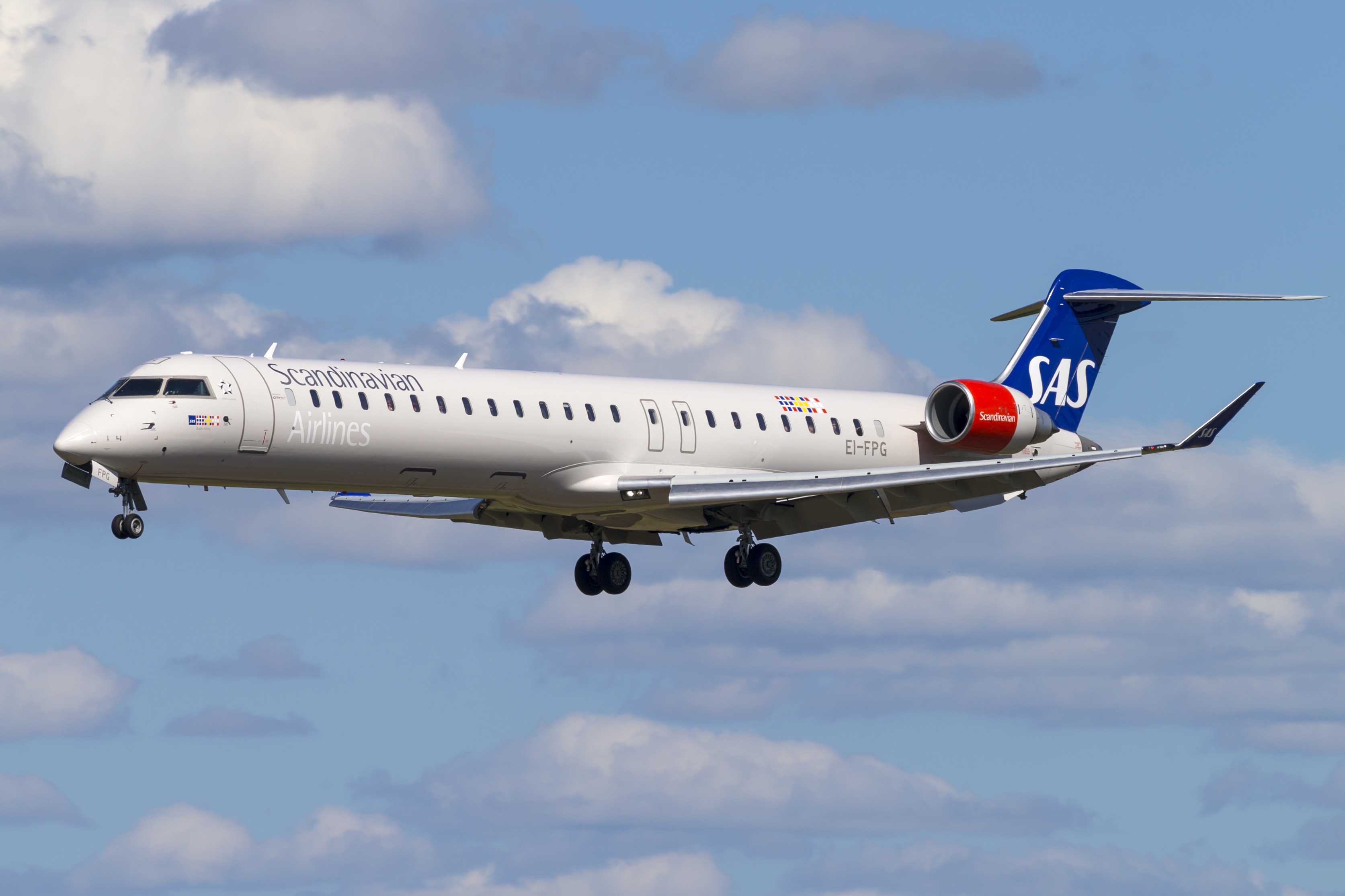 SAS Bombardier CRJ900 (Foto: © Thorbjørn Brunander Sund, Danish Aviation Photo)