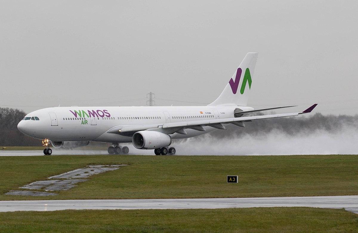 Wamos Air , Airbus A330-200 (Foto: Russell Lee – Aero Pixels |  CC 2.0)
