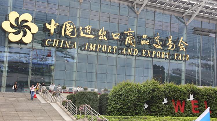 China Import and Export Fair i Guangzhou, hvor den 24. World Routes afholdes.