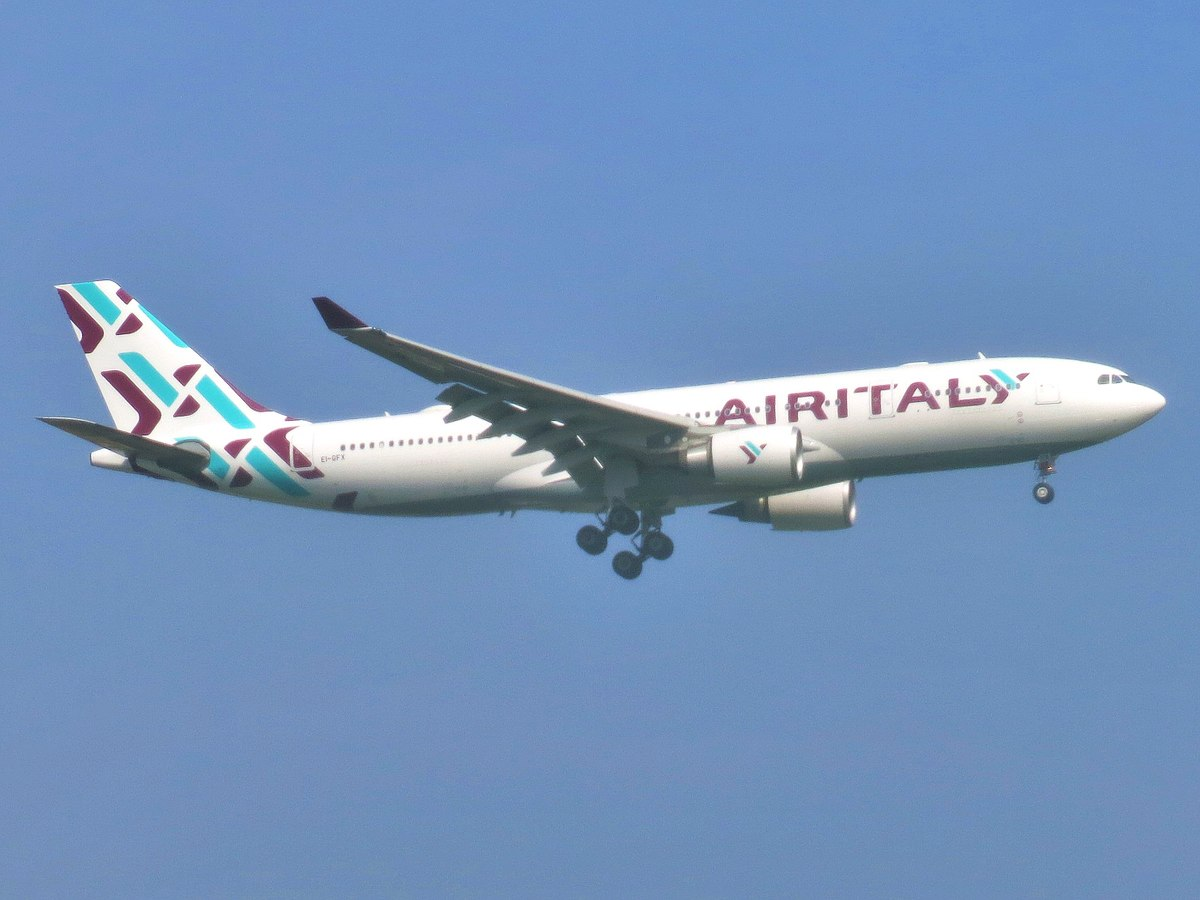 Airbus A330-200 fra Air Italy (Adam Moreira (AEMoreira042281) | CC 4.0)