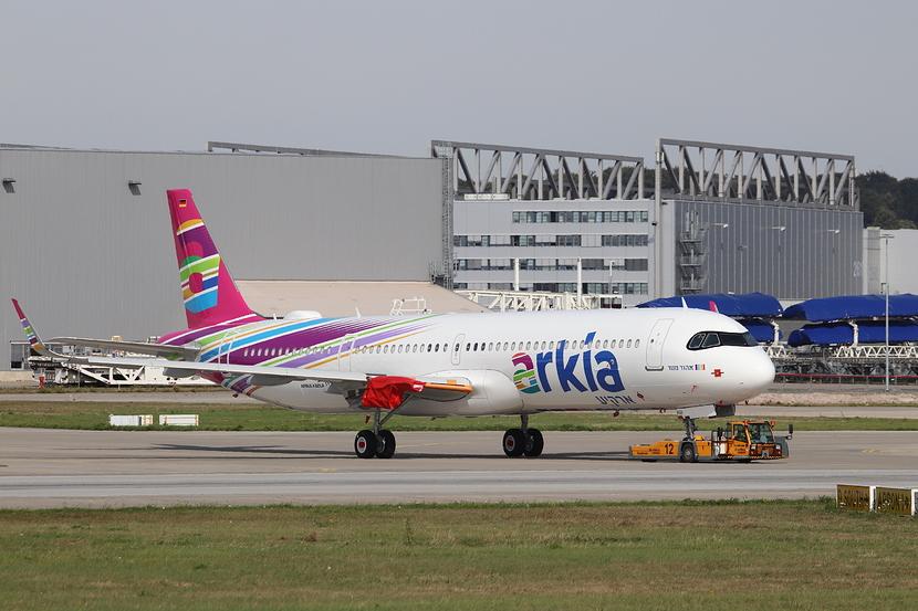 Første Airbus A321-200LR til Arkia Israeli Airlines. (Foto:  liad747)