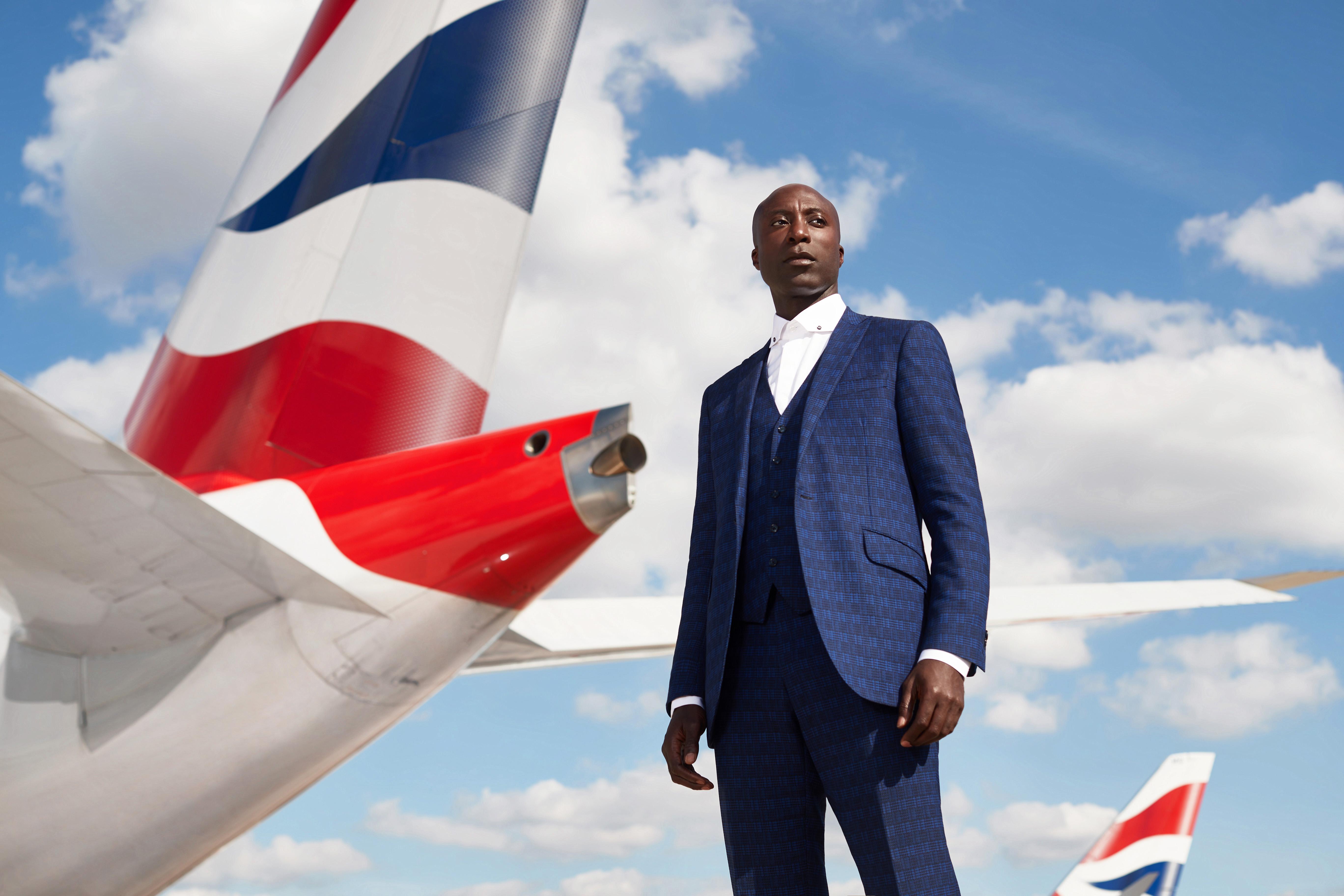 British Airways får nye uniformer designet af den ikoniske britiske skrædder Ozwald Boateng. Foto: British Airways