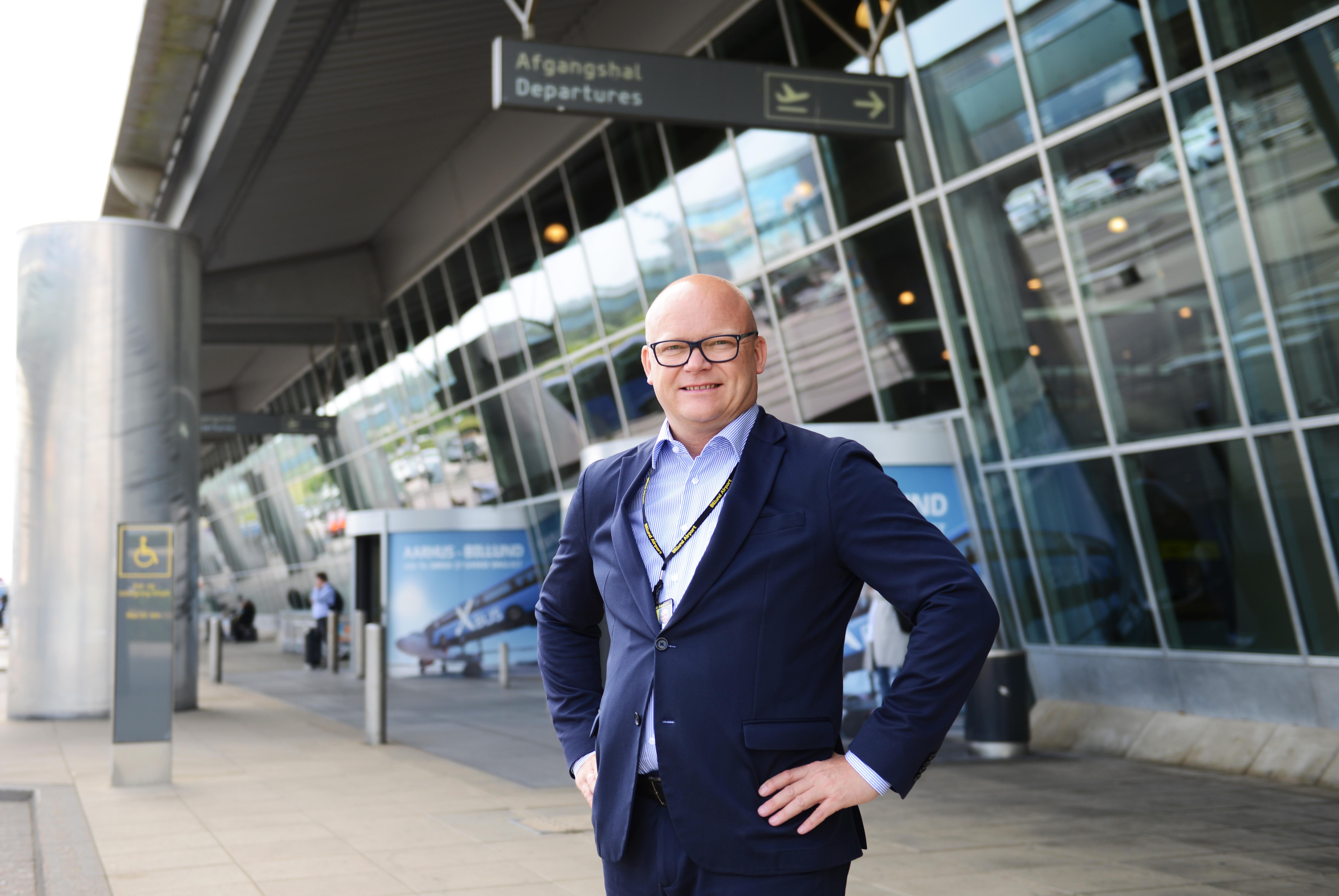 Lufthavnsdirektør i Billund lufthavn Jan Hessellund. (Foto: Joakim J. Hvistendahl)
