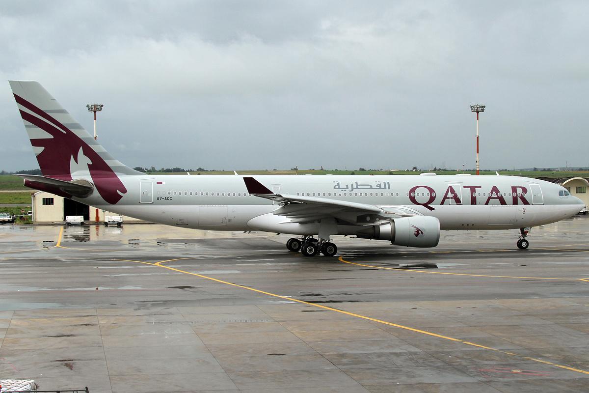 Qatar Airways Airbus A330-200 (Foto: Patrick Mutzenberg ´GNU 1.2)