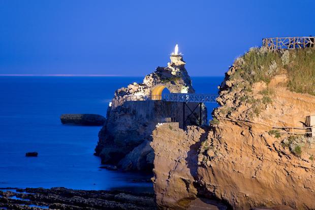 Biarritz i det sydvestlige Frankrig er en af Lufthansas nye destinationer.