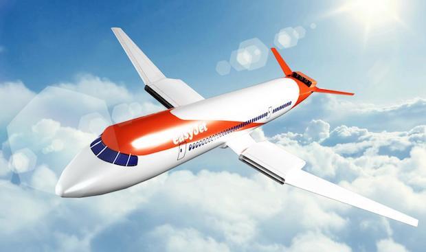 67629f21b06 Sådan vil det kommende elektriske easyJet-fly måske se ud.