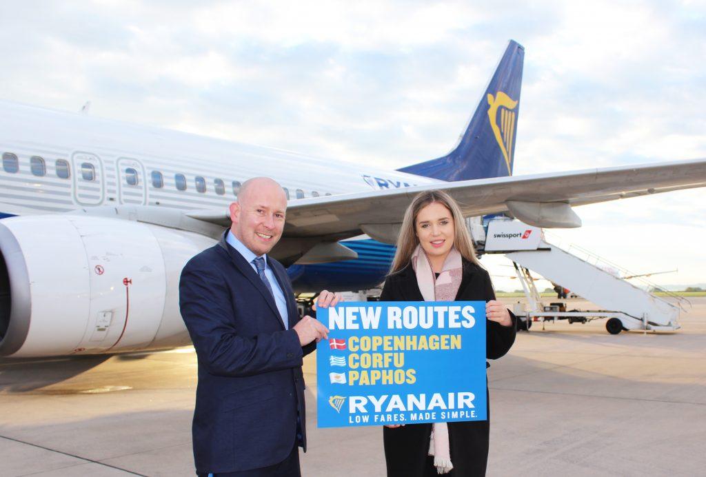 Ryanair præsenterer København som en af tre nye destinationer fra Liverpool (Foto: Ryanair/PR)