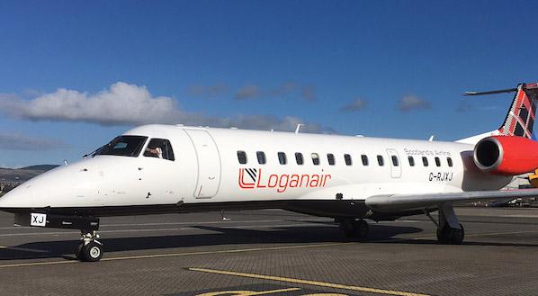 Loganair Embraer 135. (Foto: Loganair)