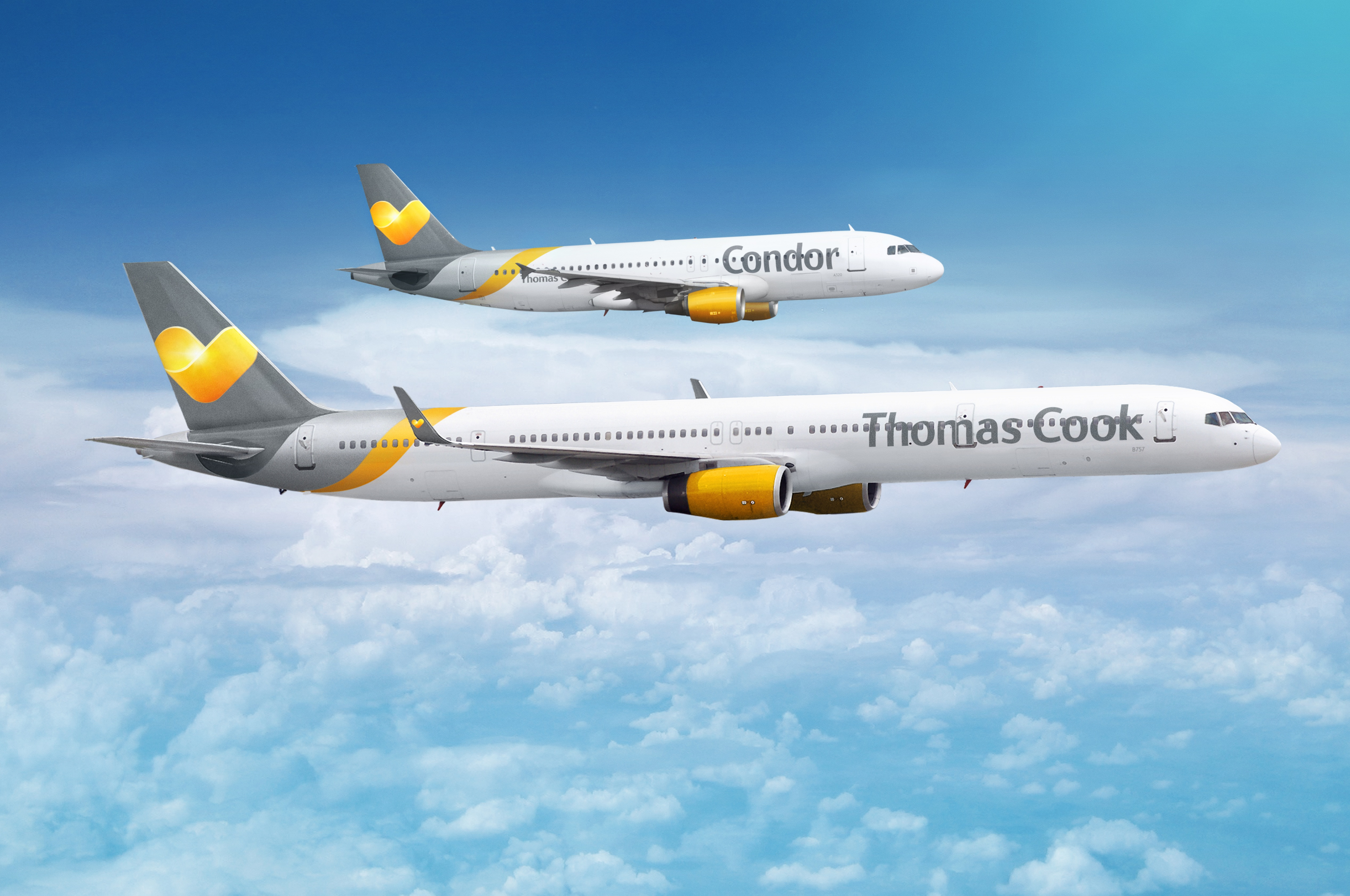 Thomas Cook Airlines UK og Condor (Foto: Thomas Cook Group Airline/PR)