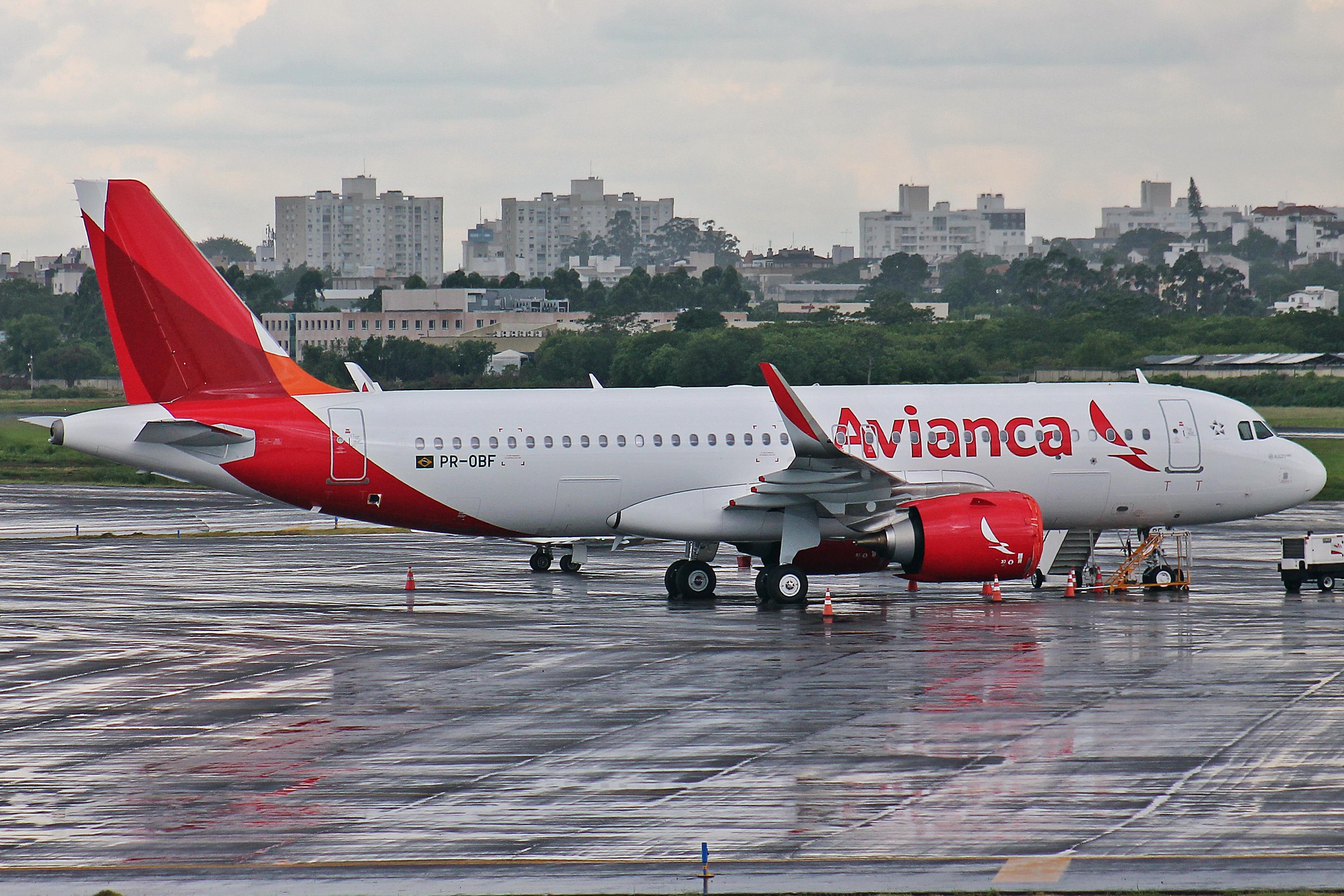 En Airbus A320-200 fra flyselskabet Avianca Brasil. Foto: Rafael Luiz Canossa