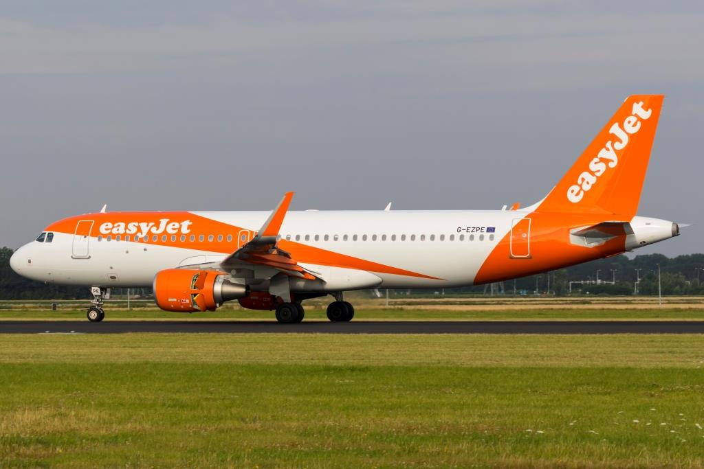 Airbus A320-200 fra easyJet (Foto: (Foto: © Thorbjørn Brunander Sund | Danish Aviation Photo)
