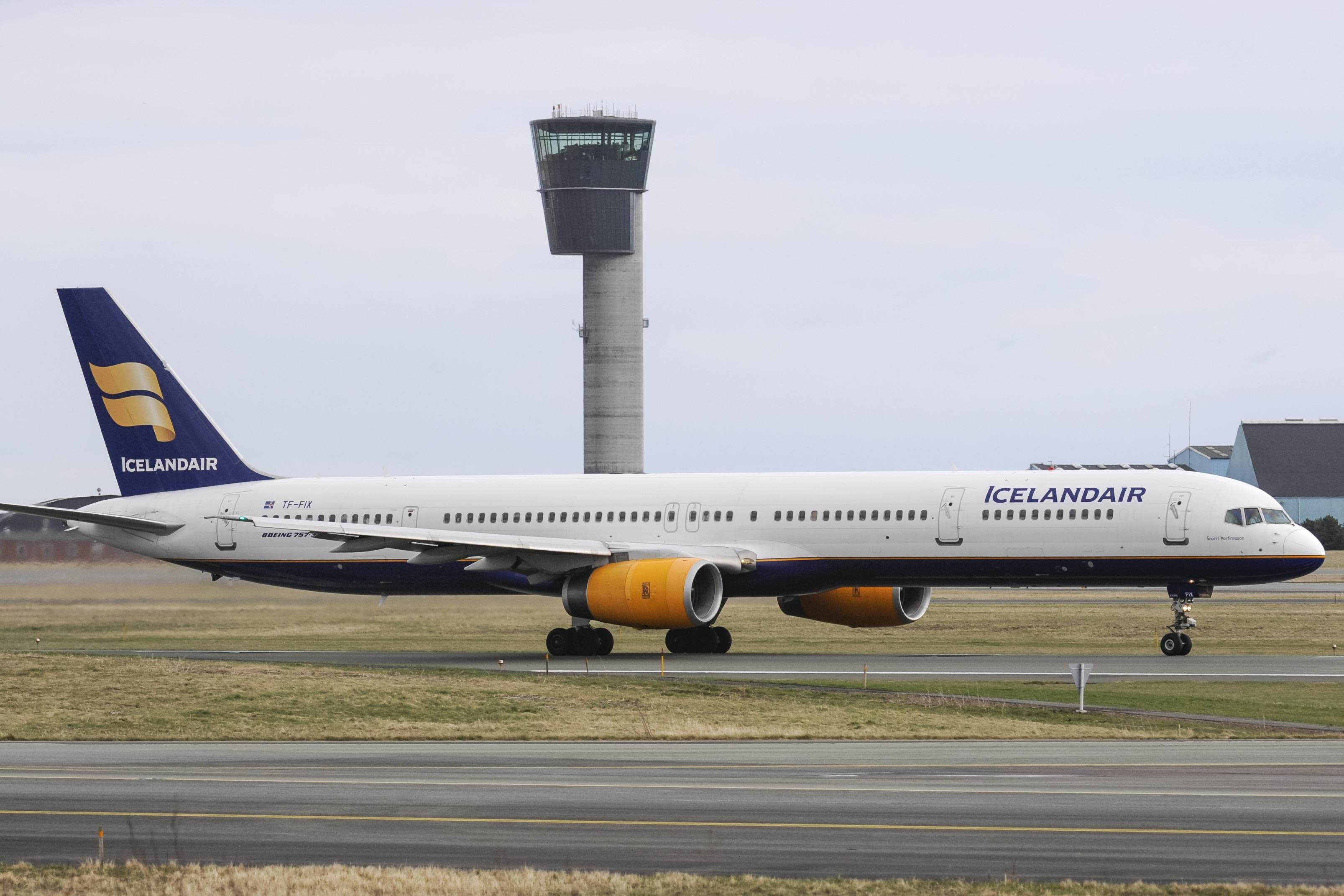 En Boeing 757-300 fra Icelandair i Københavns Lufthavn. Foto: © Thorbjørn Brunander Sund, Danish Aviation Photo