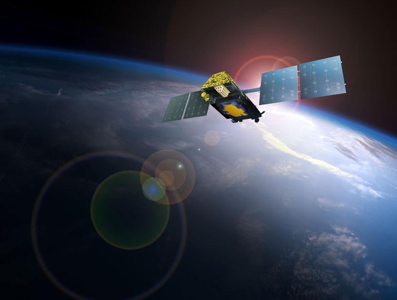 Satelitter fra Aireon overvåger luftrummet over hele verden.