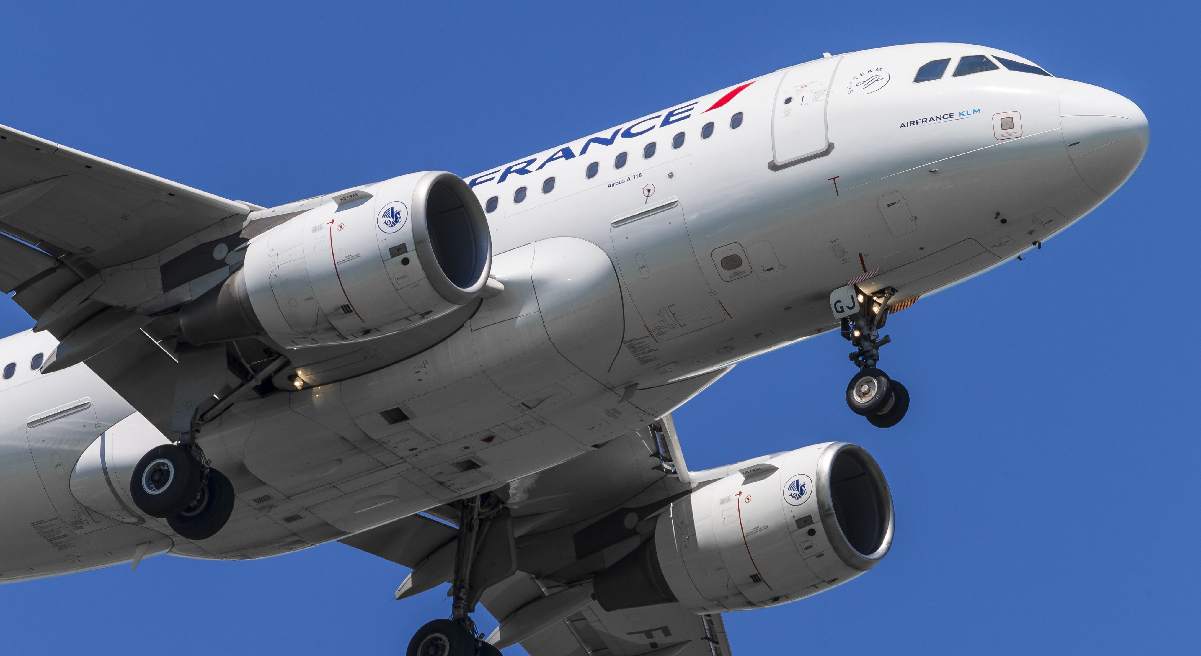 En Airbus A318 fra Air France. Foto: © Thorbjørn Brunander Sund, Danish Aviation Photo