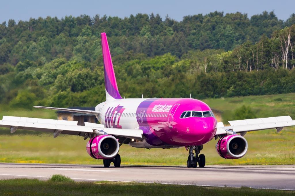 Airbus A320-200 fra Wizz Air (Foto: © Thorbjørn Brunander Sund)
