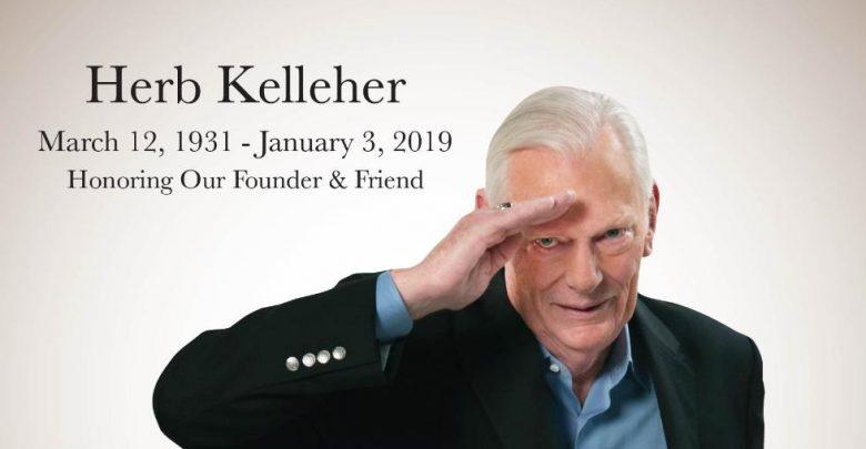 Grundlægger af det amerikanske lavprisflyselskab Southwest Airlines, Herb Kelleher, er død i en alder af 87 år. Foto: Southwest Airlines