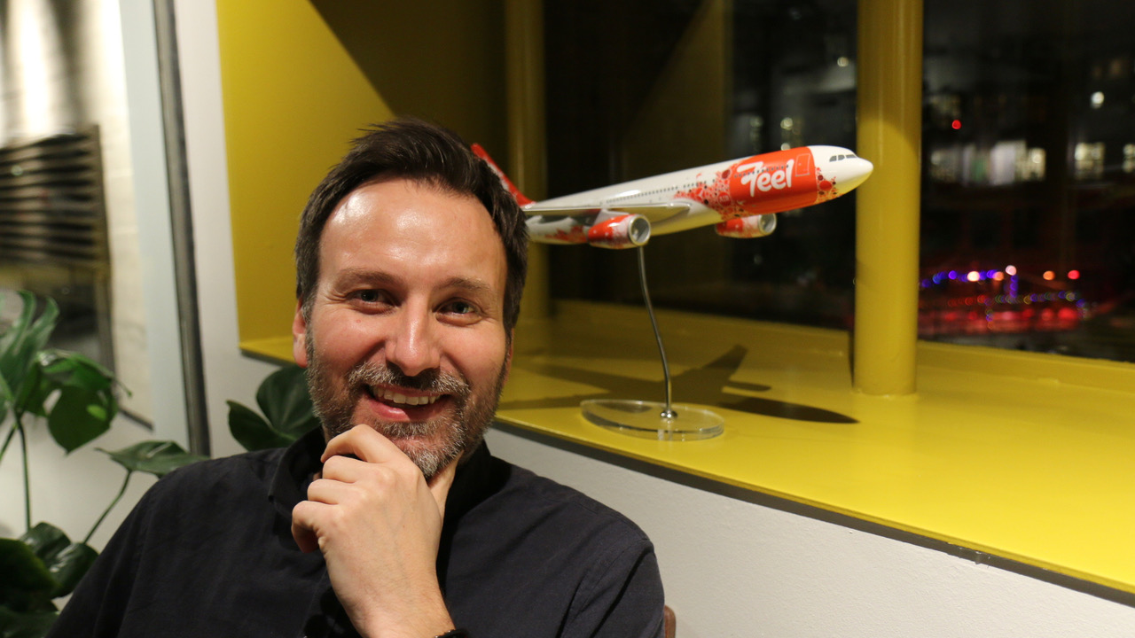 Kai Holmberg er stifter af og nuværende direktør for FEEL Air. (Foto: Aleksander Isachsen)