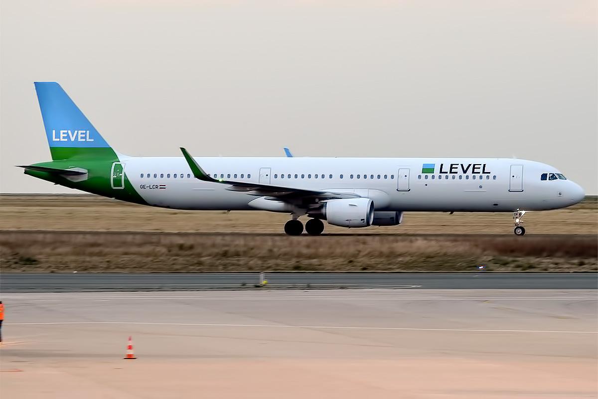LEVEL A321-200 fra Anisec Luftfahrt. (Foto: Anna Zvereva | CC 2.0)
