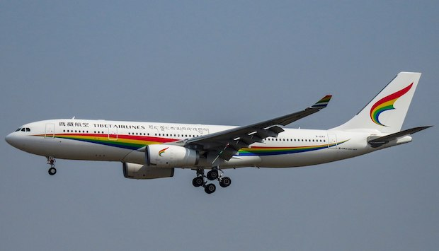 Tibet Airlines Airbus A330-200. Foto: Wikimedia Commons
