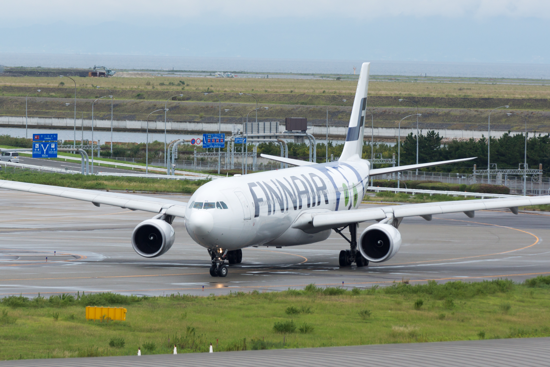 En Airbus A330-300 fra Finnair. (Foto: lasta29)