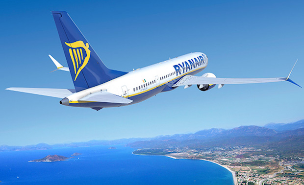 Ryanair MAX 8. (Illustration: Boeing)