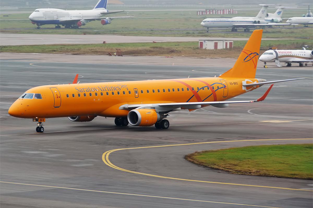 Embraer ERJ-195AR fra Saratov Airlines (Foto: Anna Zvereva   Creative Commons 2.0)