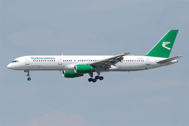 Boeing 757-200 fra Turkmenistan Airlines. (Foto: Wikimedia Commons)