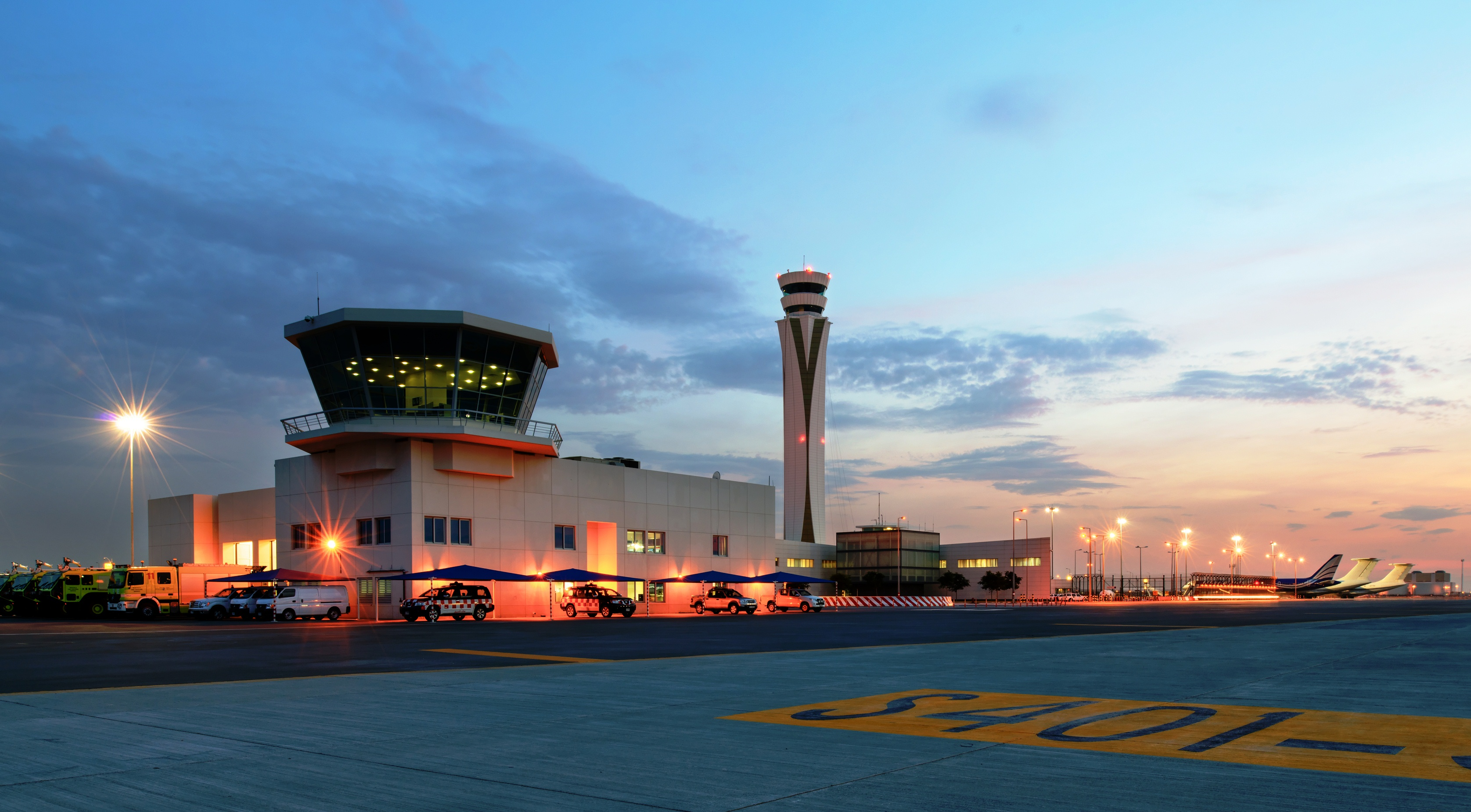 Dubai World Central Airport (DWC) er udvidet til årligt at kunne håndtere op mod 26,5 millioner passagerer. Foto: Dubai Airports