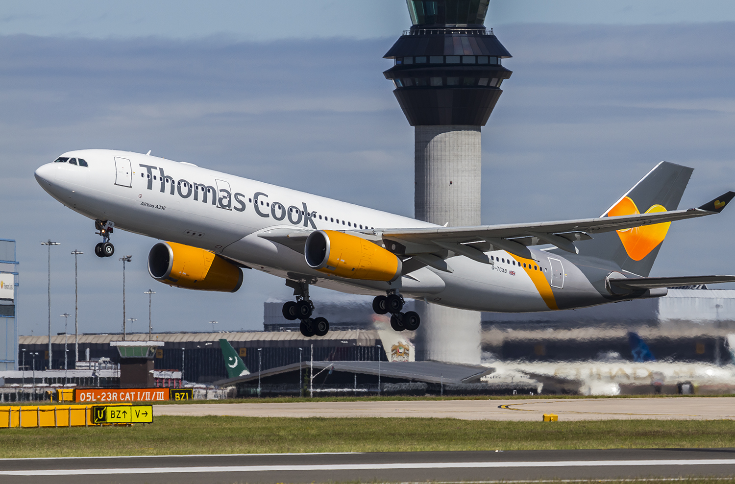 En Airbus A330 fra Thomas Cook Airlines. Foto: Thomas Cook Airlines