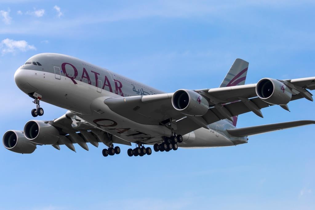Airbus A380-800 fra Qatar Airways. (Foto: © Thorbjørn Brunander Sund | Danish Aviation Photo)