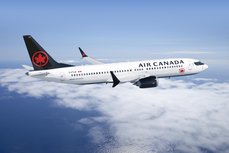 Air Canada Boeing 737 MAX 8 (foto: Air Canada)