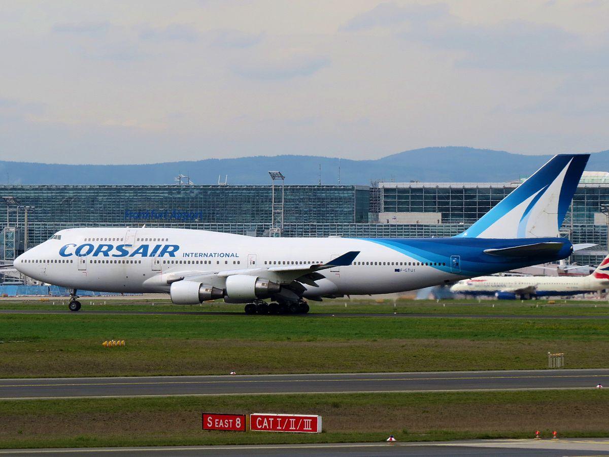 Boeing 747-400 fra Corsair. (Foto: Kiefer | CC 2.0)