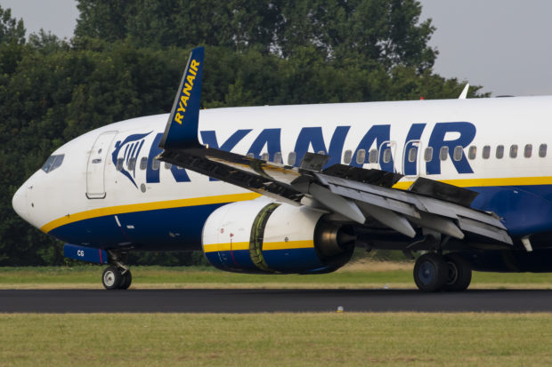 En Boeing 737-800 fra det irske lavprisflyselskab Ryanair. Foto: © Thorbjørn Brunander Sund, Danish Aviation Photo