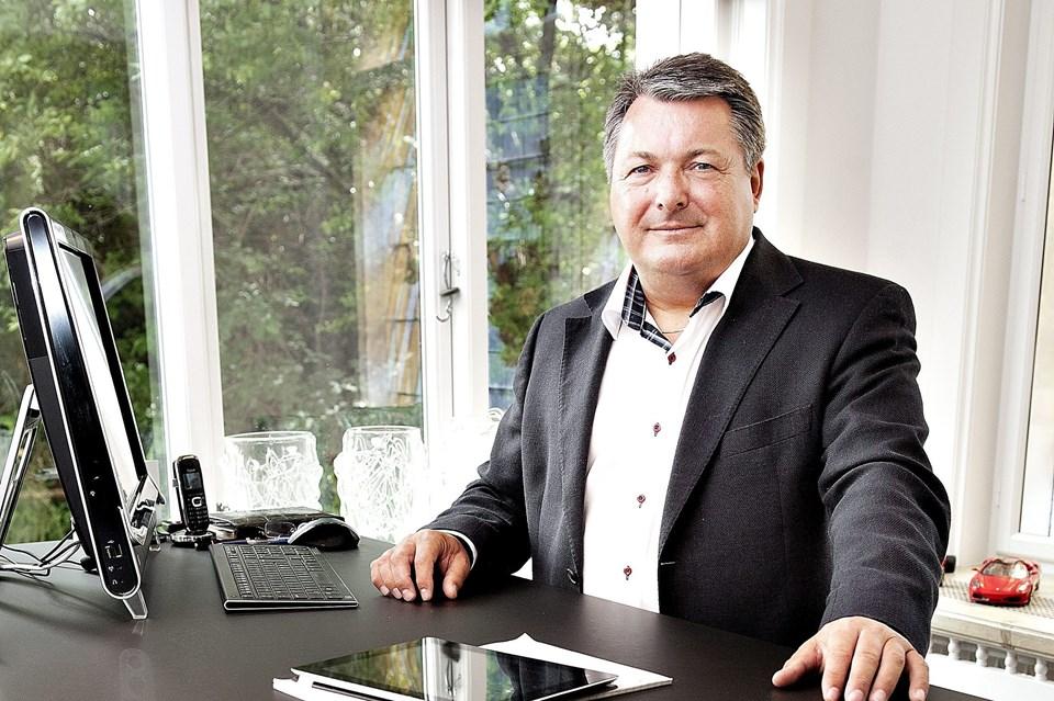 Eigild Bødker Christensen er ny investor i Great Dane Airlines. (Foto: Claus Søndberg)