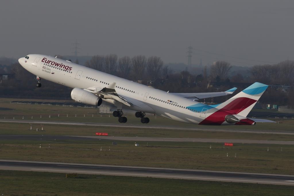 Airbus A330 fra Eurowings (Foto: Eurowings/PR)
